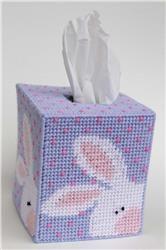 Peeking Easter Bunny Tissue Topper