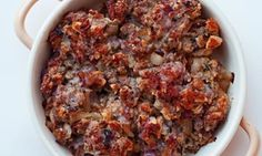 Nigel Slaters classic sage and onion stuffing. Photograph: Jonathan Lovekin for the Observer christmas diner recipes Sausage Meat Stuffing, Sage And Onion Stuffing, Meat Recipes, Cooking Recipes, Diner Recipes, Cooking Ideas, Sage Recipes, Food Ideas, Haute Couture