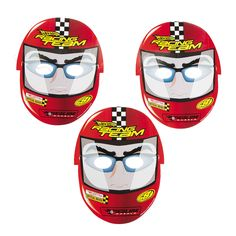 Strap on your helmet and get ready to race! They'll go for the checkered flag when they see these Hot Wheels™ Speed City Masks! With 8 masks. Monster Truck Party, Monster Trucks, Car Themed Parties, Birthday Parties, Race Car Birthday, Car Themes, Checkered Flag, Hot Wheels Cars, Oriental Trading