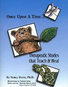 Therapeutic stories that teach & heal Therapy Games, Art Therapy, Montessori Books, School Social Work, Kids Health, Healing, Children Health