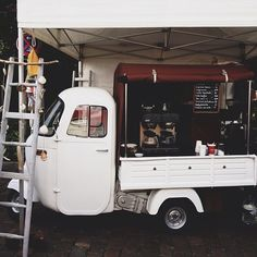 Cute coffee cart