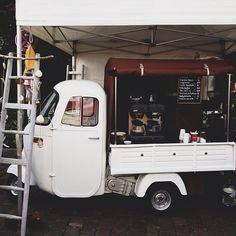 Cute coffee cart