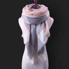 Za Winter Scarf For Women140cm*140cm*260cm Large Women Scarf Warm Shawls and Scarves Pashmina Luxury Brand Wholesale / Retail