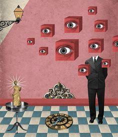 El artista Randy Mora de origen colombiano se ha dedicado a elaborar collages que al final resultantrabajosminuciosos y de alta calidad en el que cada pi7