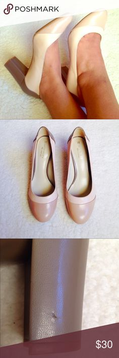 """Naturalizer N5 Comfort Heels NWOT Naturalizer N5 comfort Esme Pump Heels Size 8. These shoes are very comfortable. Never worn, just a tiny scuff on one heel. (See photo). Heel height approx 2.5"""". Naturalizer Shoes Heels"""