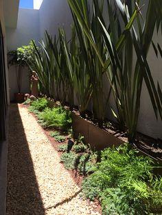 Patios pequeños : Jardines modernos de Hábitas