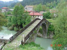 Γρεβενά, η μαγεία της φύσης Greece, Sea, History, Bridges, Food, Historia, Essen, Ocean, Bridge
