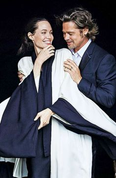 "Brad Pitt and Angelina Jolie...wow... [""Repinned by Keva xo""]"