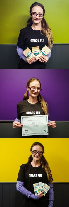 #northlandnaturalpeople Daisy just completed Steve's Real Food Raw U Program! We're so excited to celebrate her accomplishment, what dedication! She's been with Northland since Dec.12, 2016. Before that she gained industry experience as assistant manager at Chuck & Dons Highland and later worked as a manager at Wag N' Wash Natural Pet Food & Bakery. She provides account services on our inside sales team, and often takes the Northland booth out on weekends for events - She loves to chat and…