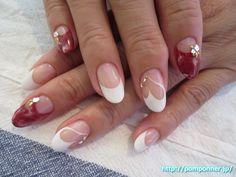 ハートフレンチが可愛いネイル #フレンチネイル #nail #nailart #nails