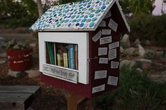 little free library!! there is one near my house, and i must take & share a photo soon... ~j  CALIFORNIA, West Sacramento  #1154