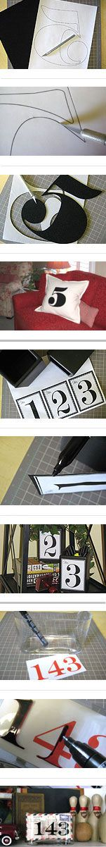 """""""Decorating by Numbers"""" guest blog by Just Something I Made"""