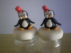 Gostar de criar peças em Biscuit? Veja aqui como fazer um lindo pinguim! A massa de biscuit pode se