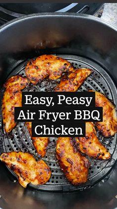 Air Fryer Oven Recipes, Air Frier Recipes, Air Fryer Dinner Recipes, Dinner Recipes Easy Quick, Entree Recipes, Easy Meals, Instapot Recipes Chicken, Crockpot Recipes, Healthy Recipes
