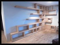 20 Ideas of wooden shelves you will love