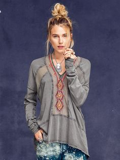Free People Focus on Center Top at Free People Clothing Boutique