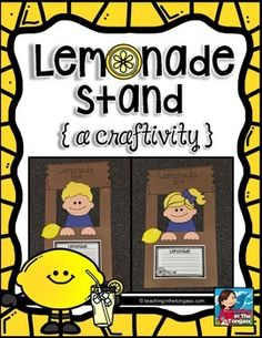 Cute Lemonade Stand Craftivity!