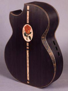 Edwinson Guitars Blackwood Rose