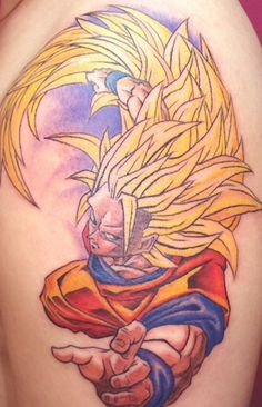 Goku tattoos love this! DBZ