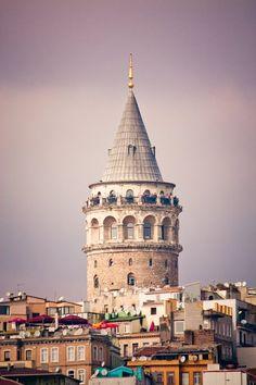 Galata Tower / İstanbul Old Buildings, Modern Buildings, Grimm, Romanesque Architecture, Bright Side Of Life, Hagia Sophia, Modern Metropolis, Turkey Travel, Istanbul Turkey