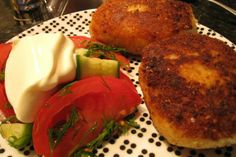 Russian recipes with photos | Russian potato-mushroom cutlet recipe
