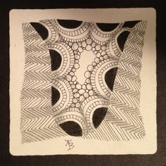 One Zentangle a Day - Day #1