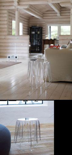 Side table illusionist