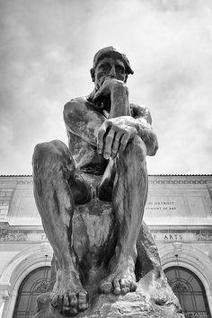 Rodin's Thinker, Detroit Institute of Art