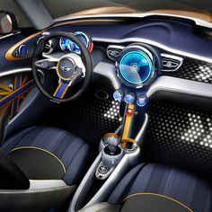 """In his presentation, Head Designer Anders Warming combined progressive technological developments with a fresh injection of """"Britishness"""" into the design. Walking around his design studio, his team are reminded at every turn about what MINI, and formerly Mini, means in heritage terms..."""