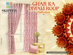 Absolute collections of curtains designed to enhance the beauty of your decor this diwali brought to you by Skipper Home Fashions. Explore varied range of colours and designs at https://skipperhomefashions.com/diwali-special  Wait for what! Shop now and make these all yours.  . . . . #GharKaNayaRoop #GharKaDiwaliRoop #DiwaliSpecial #DiwaliDecor #HomeDecorStuff #ShopNow #SkipperHomeFashions