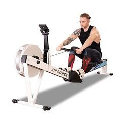 YALIXI Rowing Machines, Foldable Household Air Resistance Magnetron Rowing Machine Commercial Gym Silent Fitness… ★ 10-level magnetic voltage system: The... Home Rowing Machine, Rowing Machines, Workout Machines, Training Equipment, No Equipment Workout, Muscle Structure, Muscle Training, Body Composition, At Home Gym