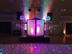Full effect of the lighting in action - book for your wedding party #wedding #weddingdj #weddinghire