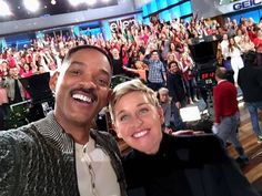 Always great to hang with Ellen and her 350 friends! Will Smith, December 2016