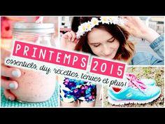 Printemps 2015   Essentiels, DIY, Recettes, Tenues et plus! - YouTube Emma Verde, Diy Décoration, Cool Stuff, Youtube, Inspiration, Tumblr Bedroom, Spring Summer 2015, Outfits, Recipes