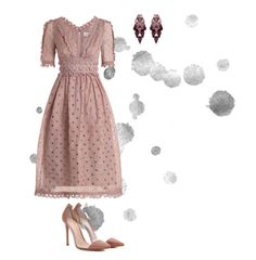 """""""Untitled #1"""" by imsohooeful-hcr ❤ liked on Polyvore featuring Gianvito Rossi, Zimmermann and Ellen Conde"""
