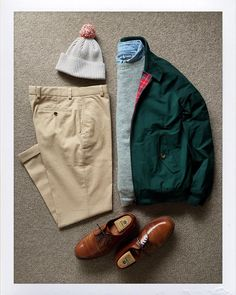 The.Daily.Obsessions — Today's Outfit. #Baracuta #G9 #Everest Shetland...