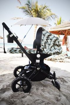 bugaboo at the beach