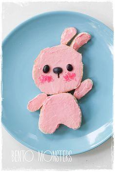 Bento, Monsters: Pink Bunny Bento