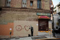 banksy in chinatown, sf