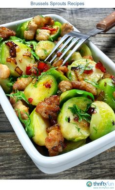 This page contains brussels sprouts recipes. The leaves of these vegetable sprouts of the cabbage family, cook faster than the core.
