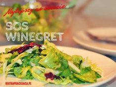 sos winegret, sos vinegret, sos vinegret przepis, vinaigrette, sos do sałaty, dressing, sałata z sosem winegret