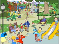 Praatplaat park
