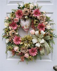 Soft Pink Valentine Wreath