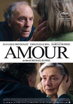 Filme Amor. Amour com Emmanuelle Riva. fev 2013
