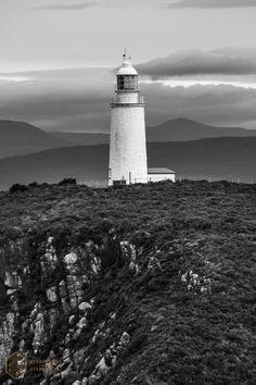 Cape Bruny Lighthouse, Bruny Island, Southeast coast Tasmania, signed by artist.