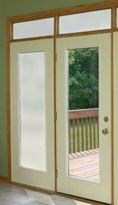 Lite Frosted Privacy film, very similar to Frosted but is more translucent and allows just a bit more visibility through the glass. It is still a total windows privacy film that allows the light in. I