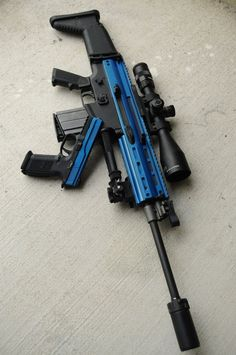 Airsoft hub is a social network that connects people with a passion for airsoft. Talk about the latest airsoft guns, tactical gear or simply share with others on this network Airsoft Guns, Weapons Guns, Guns And Ammo, Tactical Guns, Airsoft Sniper, Zombie Weapons, Armas Ninja, Custom Guns, Cool Guns