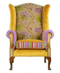 Bespoke Wing Back Armchair