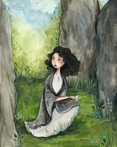 An original watercolor illustration of Claire from Outlander this painting is unframed, but will be professionally packaged with foam board backing and a clear protective sleeve Outlander Funny, Outlander Fan Art, Outlander Series, Outlander Quotes, Cinema, Collage, Stone Art, American Horror, Watercolor Illustration