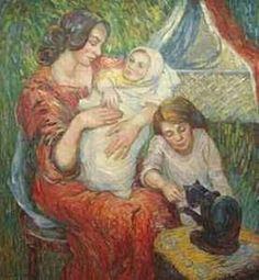 Nicolas Tarkhoff, Russian - 1871-1930